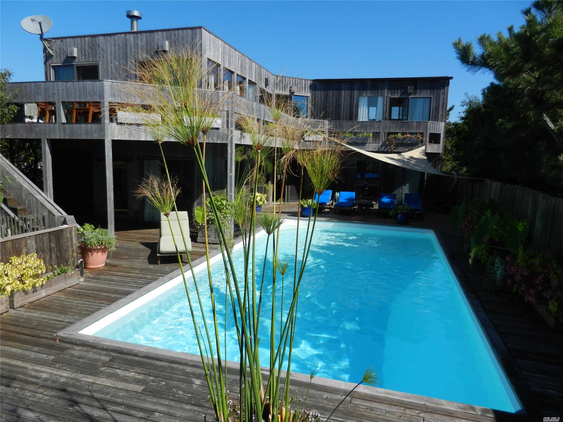 Photo of home for sale at 332 Ozone Walk, Fire Island Pine NY