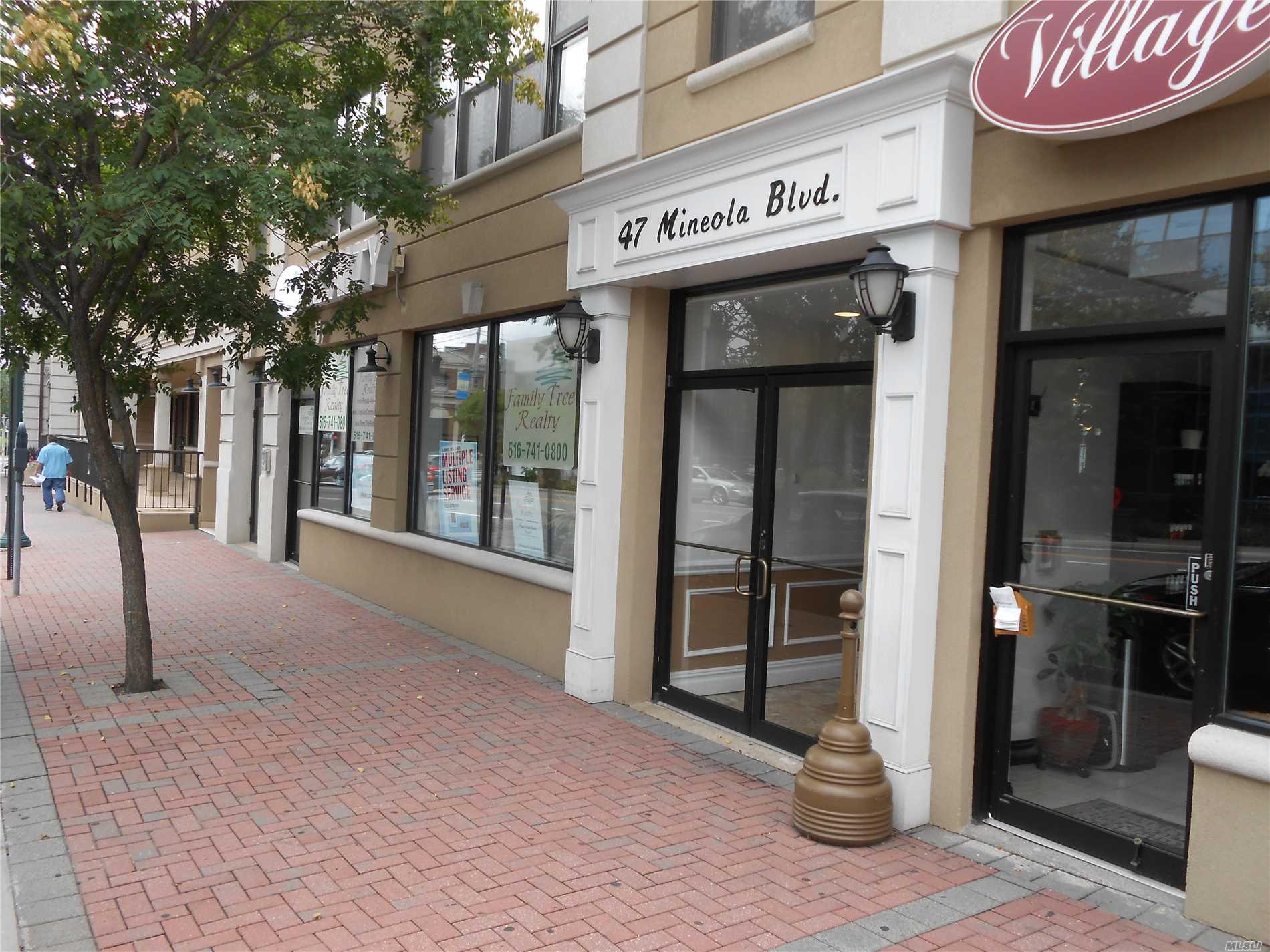 Photo of home for sale at 43 Mineola Blvd, Mineola NY