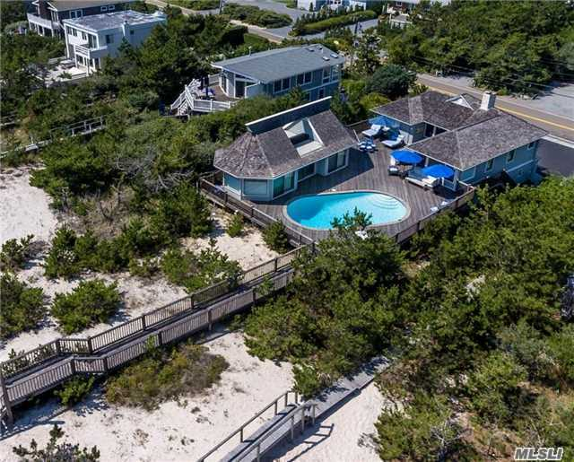 Photo of home for sale at 499 Dune Rd, Westhampton Bch NY