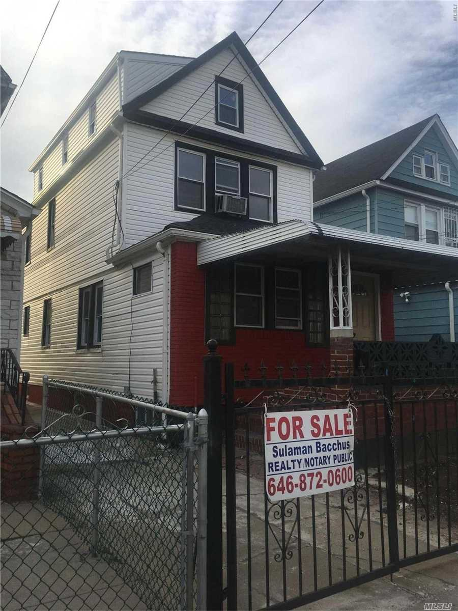 Photo of home for sale at 109-18 132nd St, South Ozone Park NY