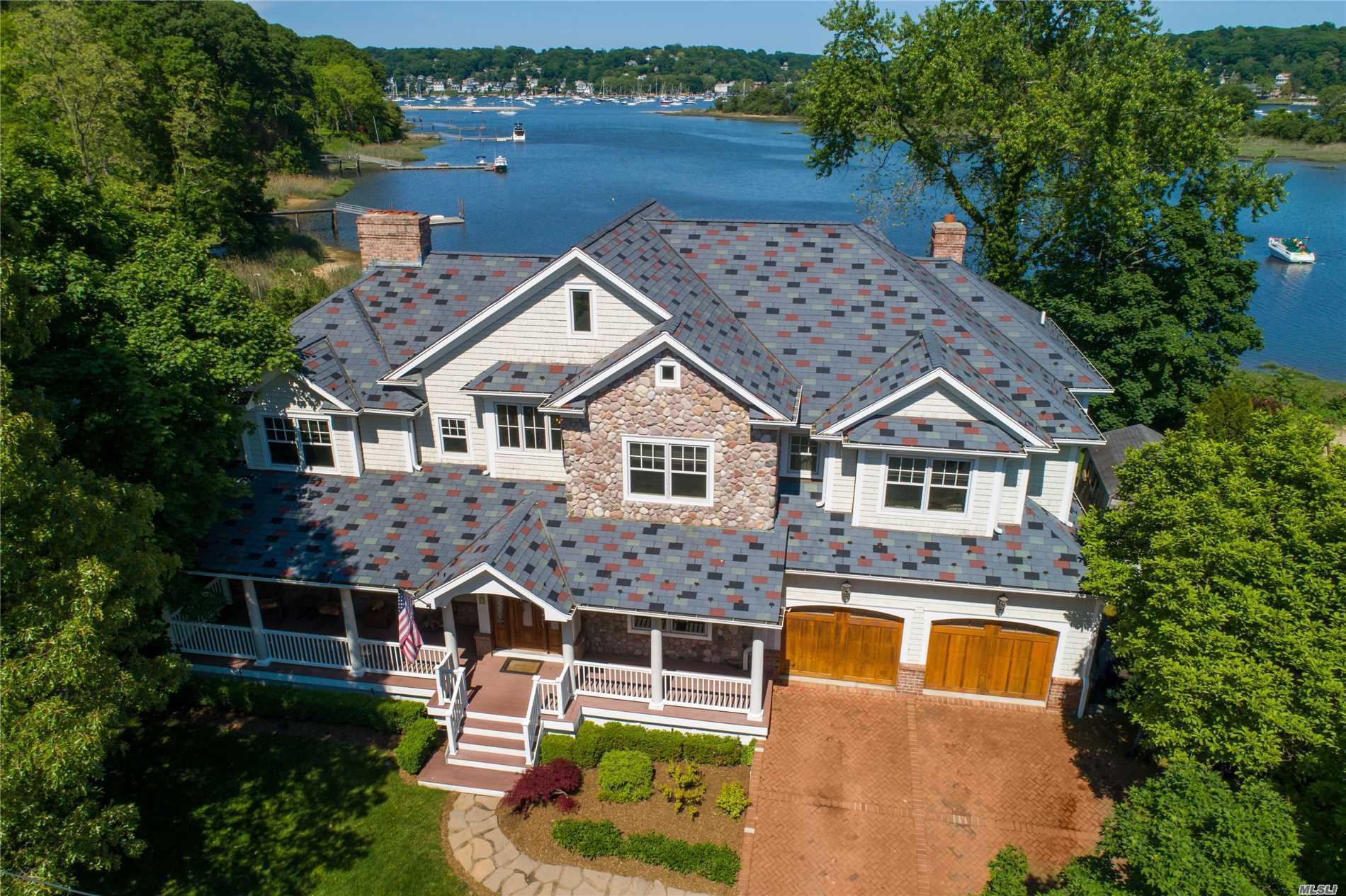 Photo of home for sale at 28 Sea Spray Dr, Centerport NY