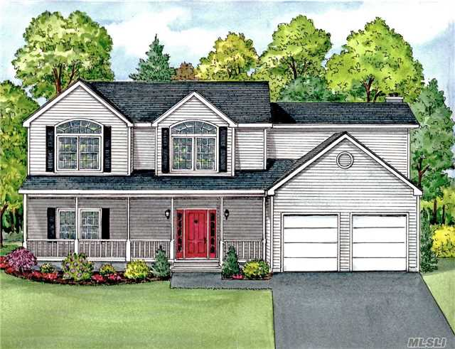 Photo of home for sale at Lot 3 Stone Hill Ct, South Huntington NY