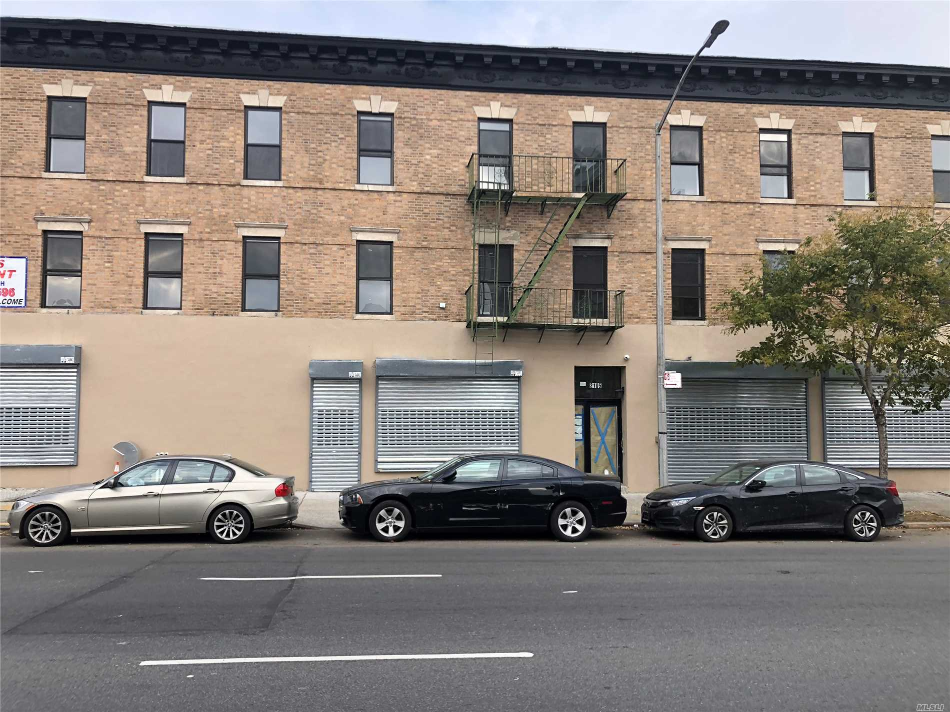Photo of home for sale at 2105 Atlantic Ave, Brooklyn NY
