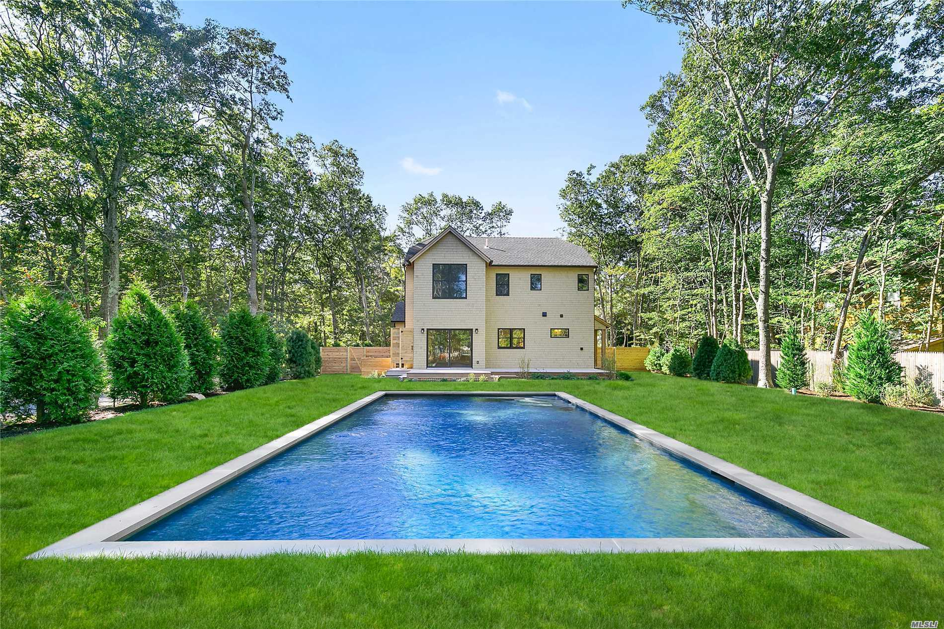 Photo of home for sale at 80 Sycamore Dr, East Hampton NY