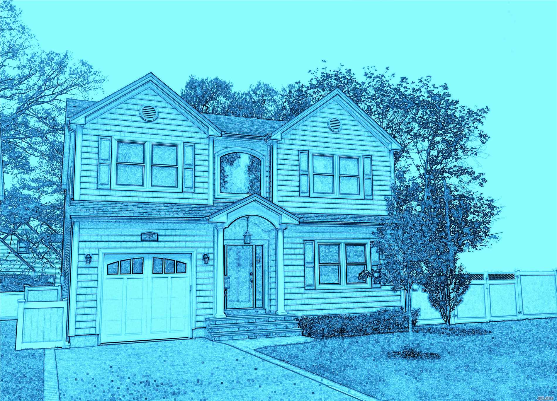 Photo of home for sale at 3465 Fourth St, Oceanside NY