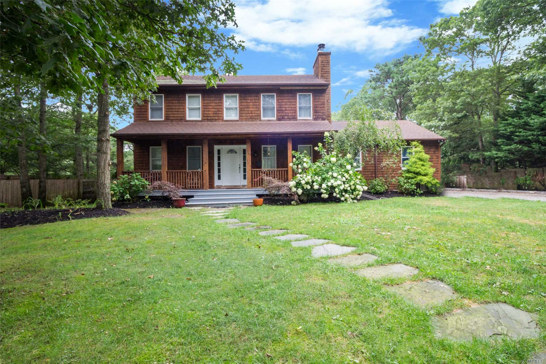 Photo of home for sale at 107 Lynncliff Rd, Hampton Bays NY