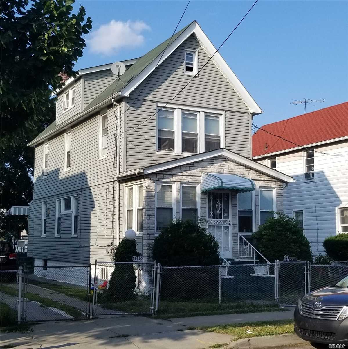 Photo of home for sale at 179-09 145th Dr, Springfield Gdns NY