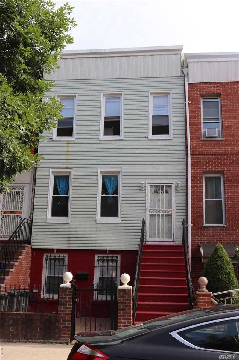 Photo of home for sale at 32 Van Buren St, Brooklyn NY