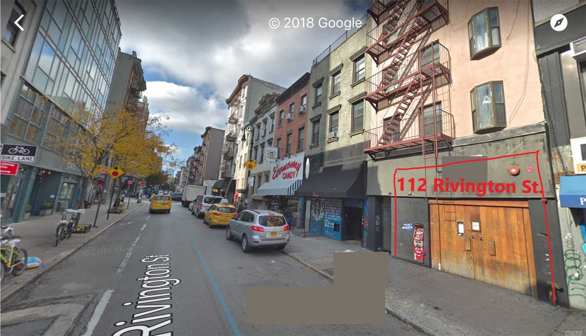 Photo of home for sale at 112 Rivington St, New York City NY