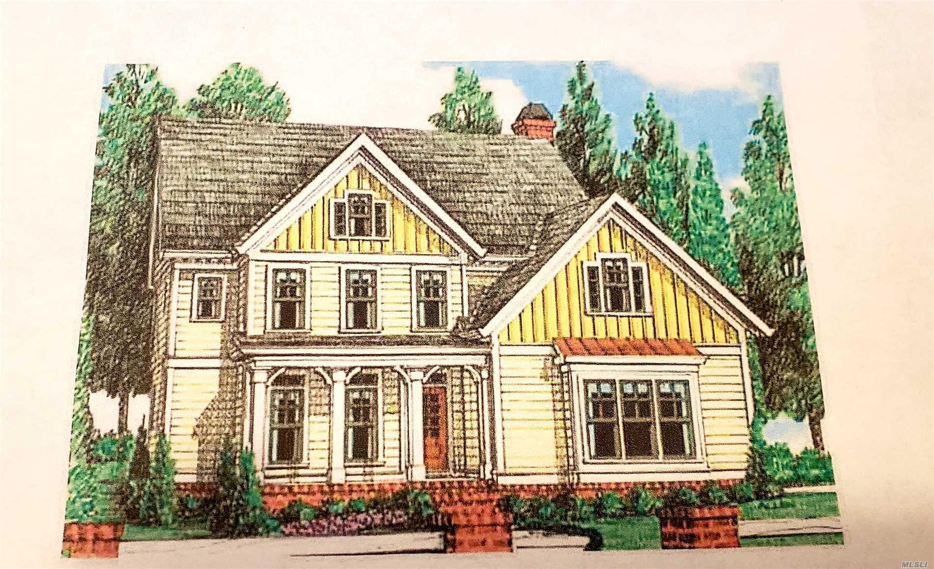 Photo of home for sale at Lot #2 Stony Brook Rd, Stony Brook NY