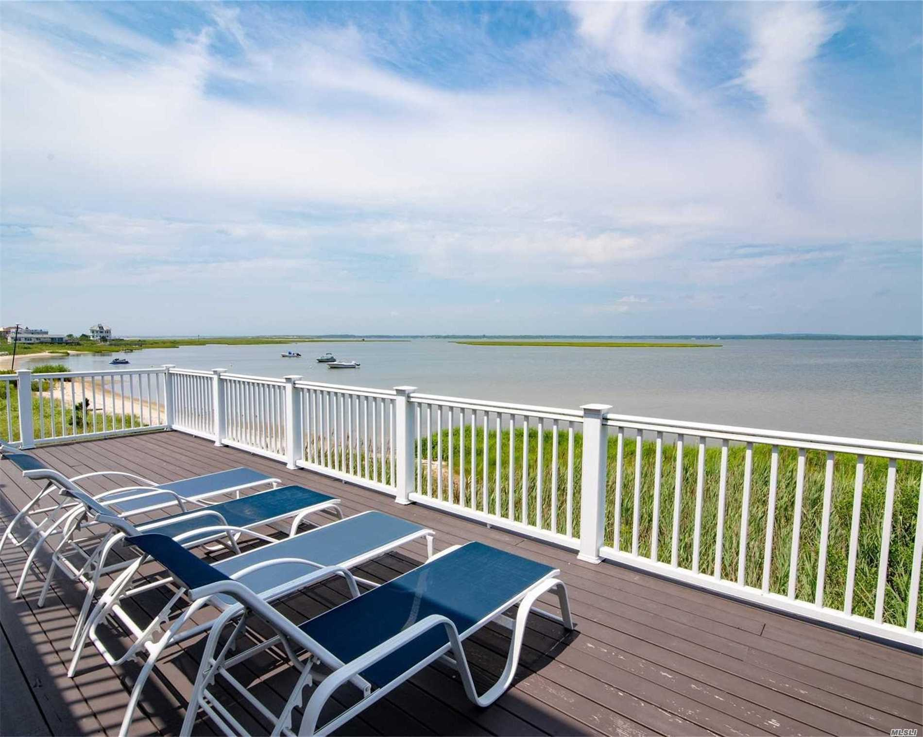Photo of home for sale at 854 Dune Rd, Westhampton Bch NY