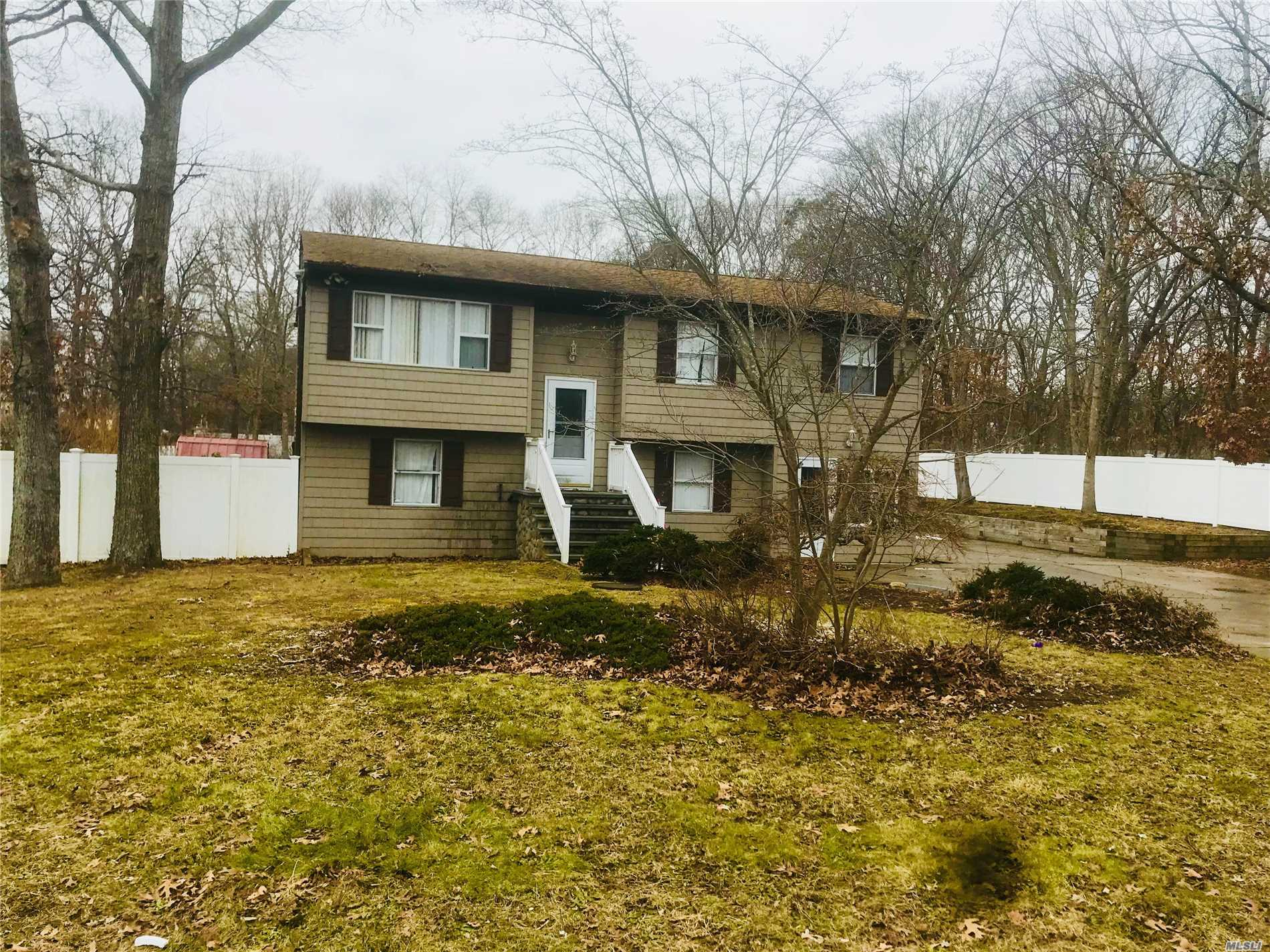 Photo of home for sale at 10 Clover St, Mastic NY