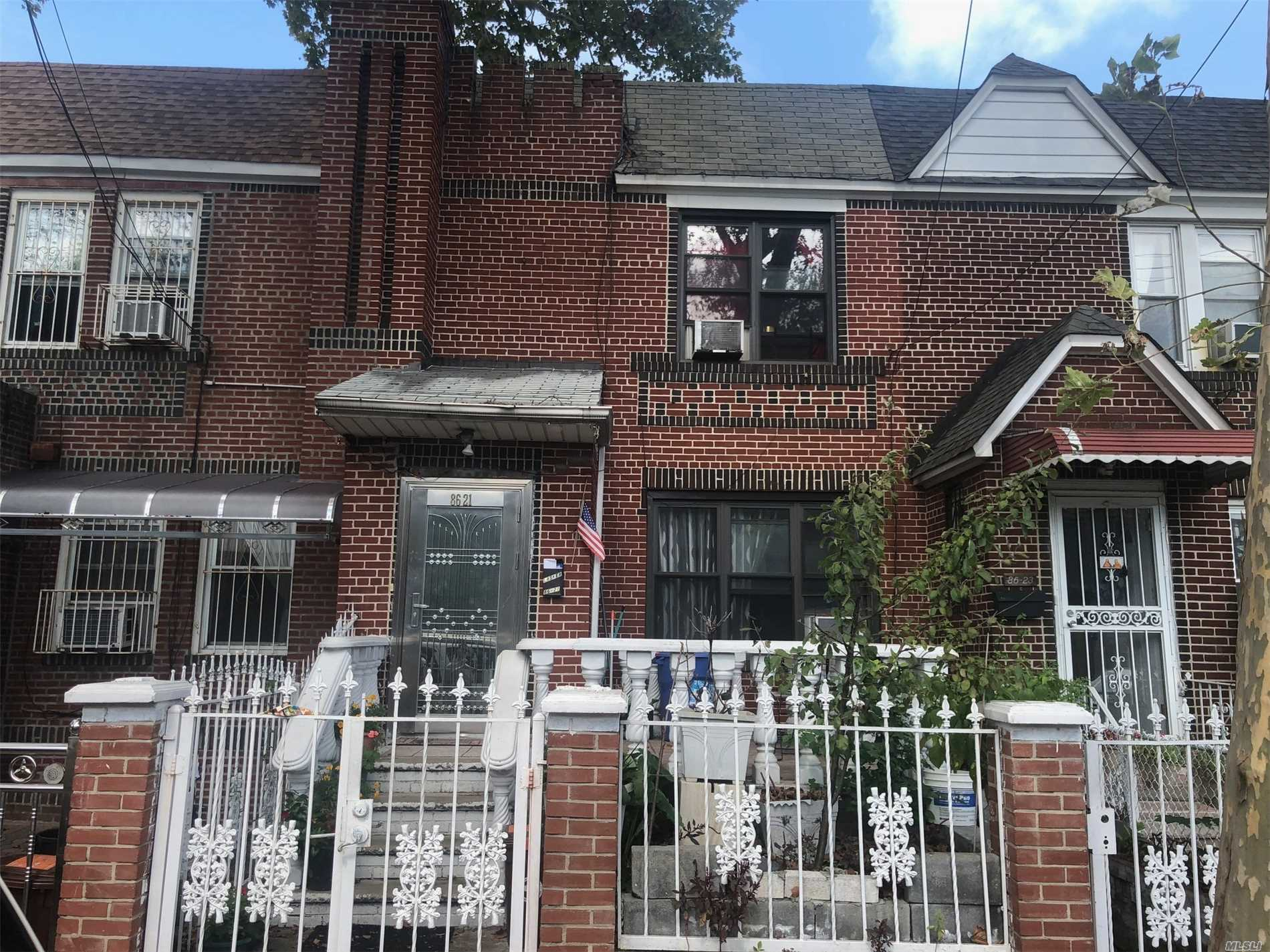 Photo of home for sale at 86-21 103 Ave, Ozone Park NY