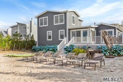 Photo of home for sale at 408 Dune Rd, Westhampton Bch NY