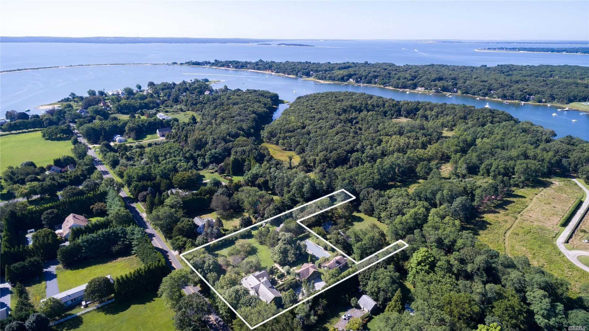Photo of home for sale at 28 Menantic Rd S, Shelter Island NY