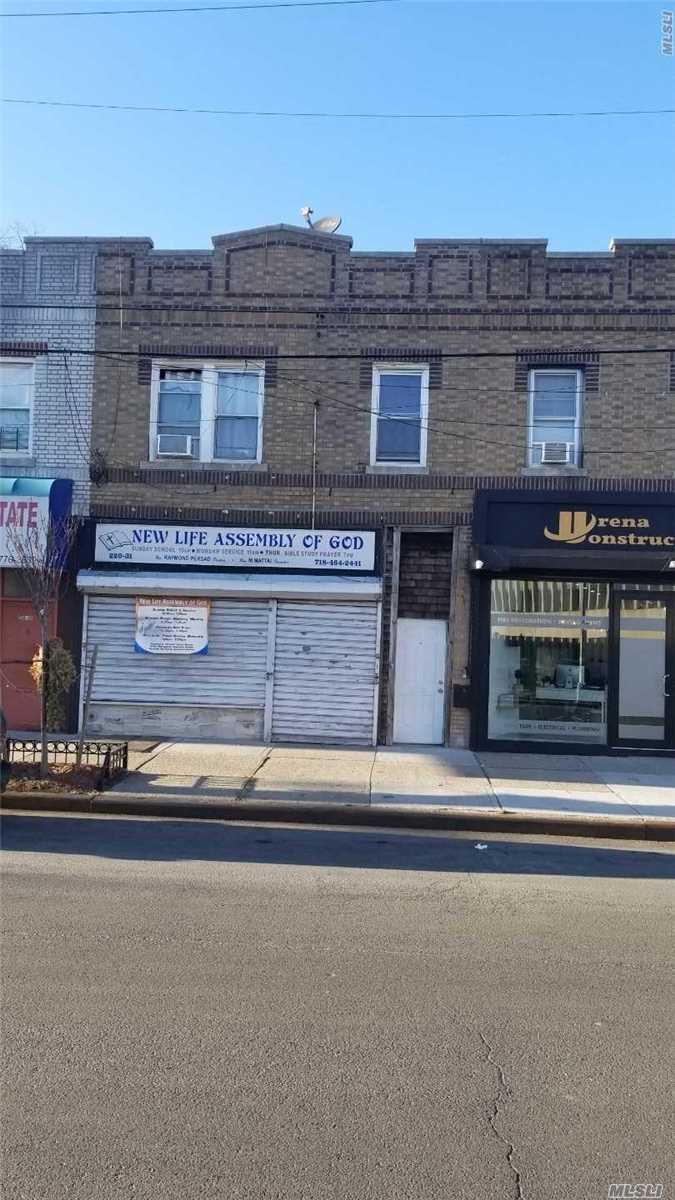 Photo of home for sale at 220-31 Jamaica Ave, Queens Village NY