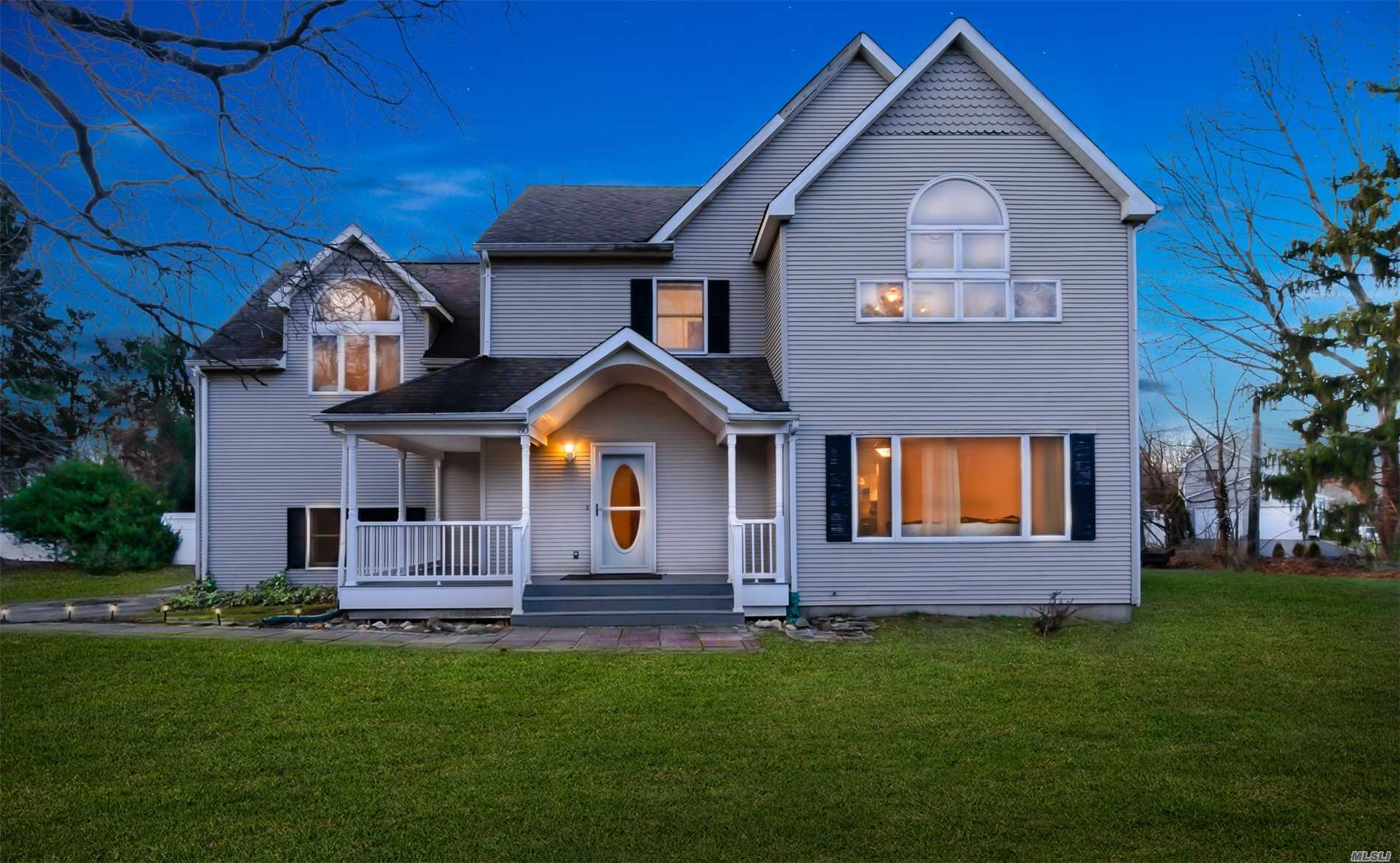 Photo of home for sale at 60 Hallock Landing Rd, Rocky Point NY
