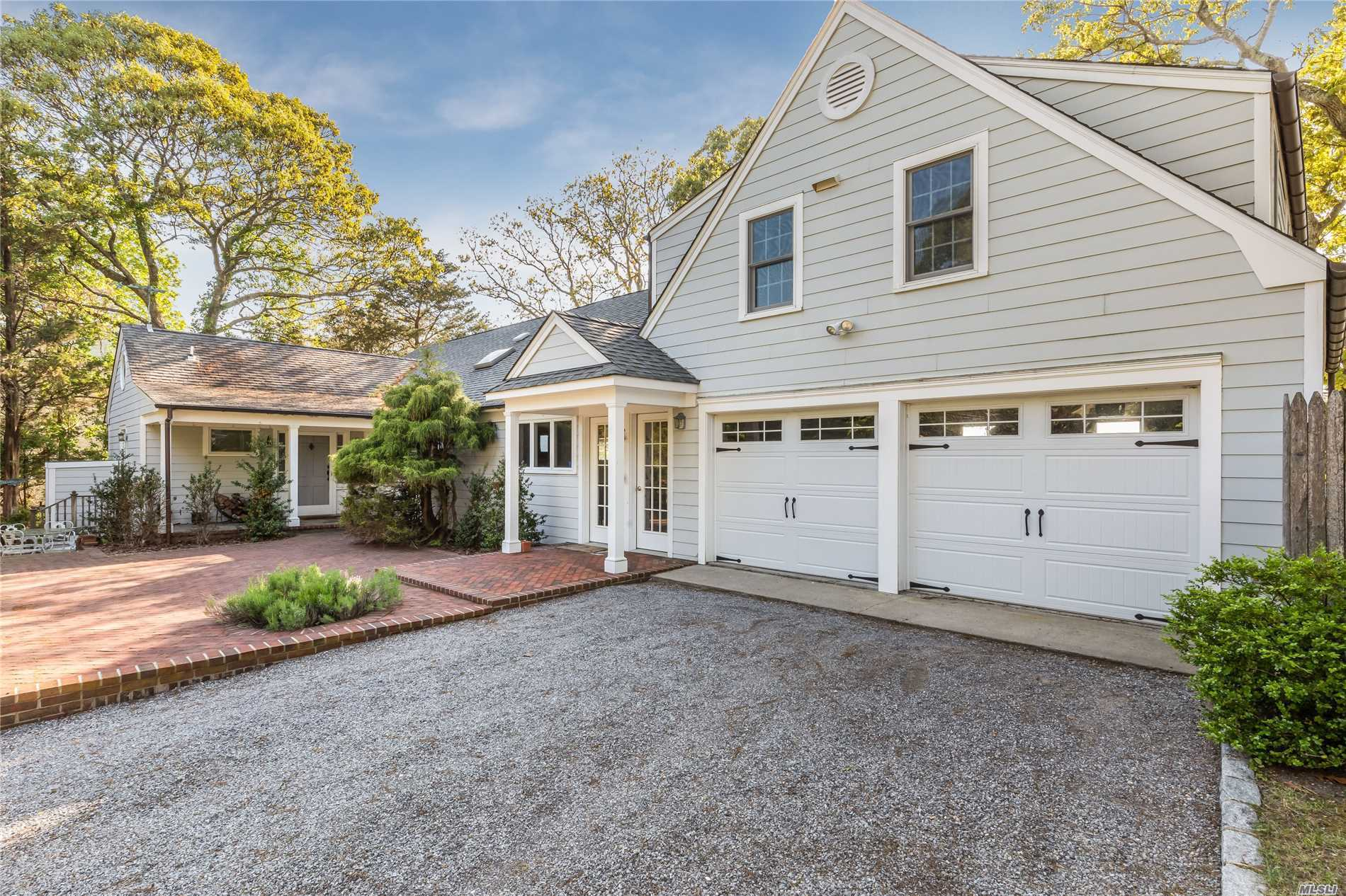 Photo of home for sale at 18 Shore Rd N, Hampton Bays NY