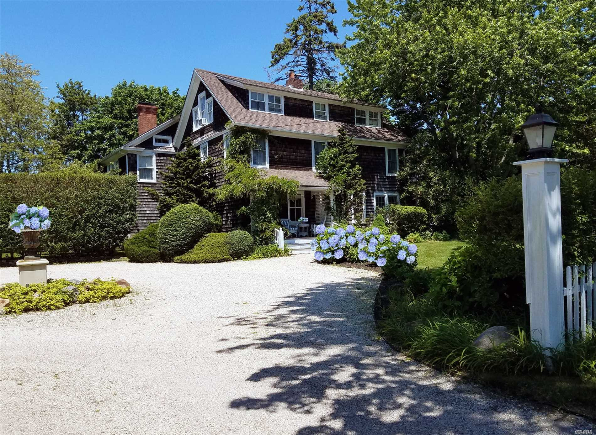 Photo of home for sale at 579 Hill St, Southampton NY