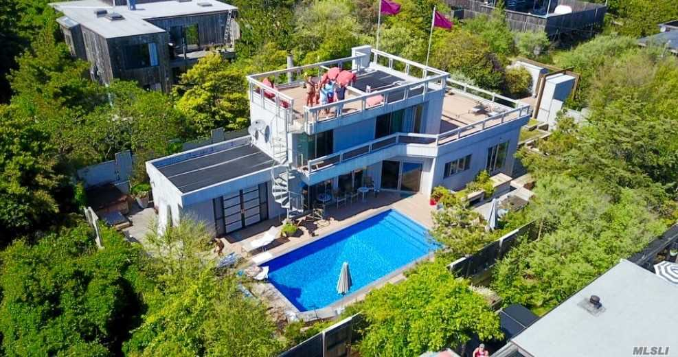Photo of home for sale at 136 Beach Hill Walk, Fire Island Pine NY