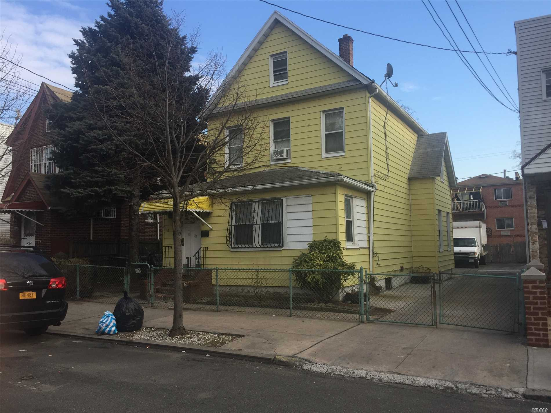 Photo of home for sale at 111-22 43rd Ave, Corona NY