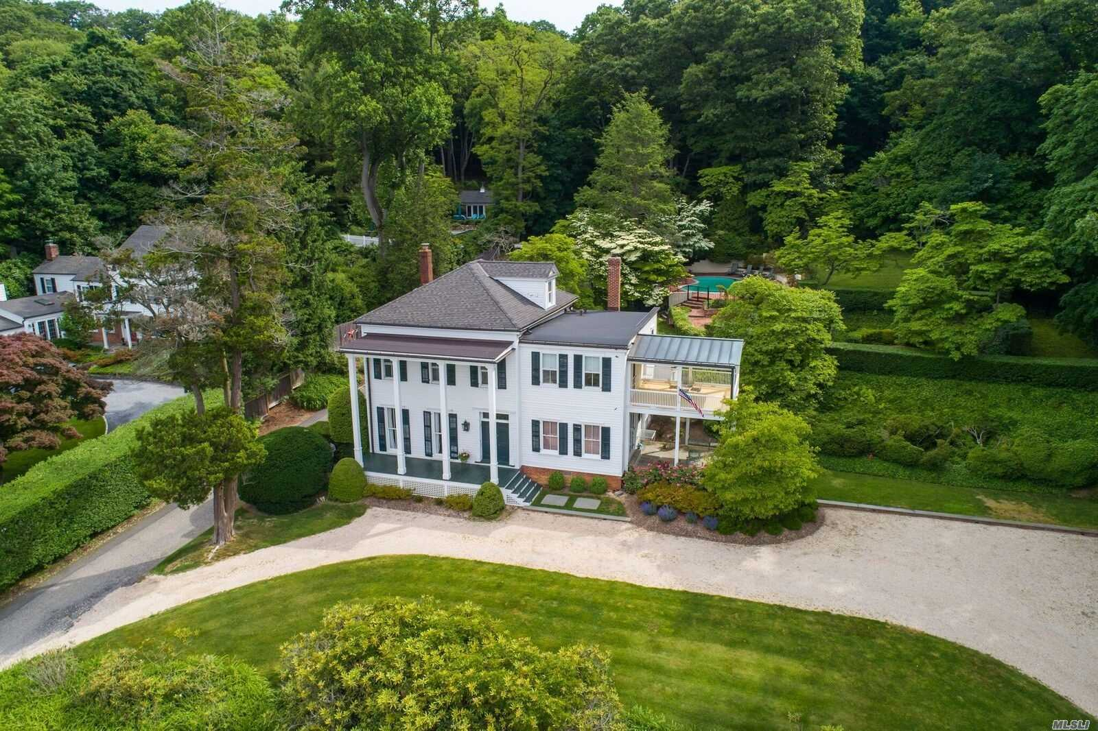 Photo of home for sale at 72 Shore Rd, Cold Spring Harbor NY