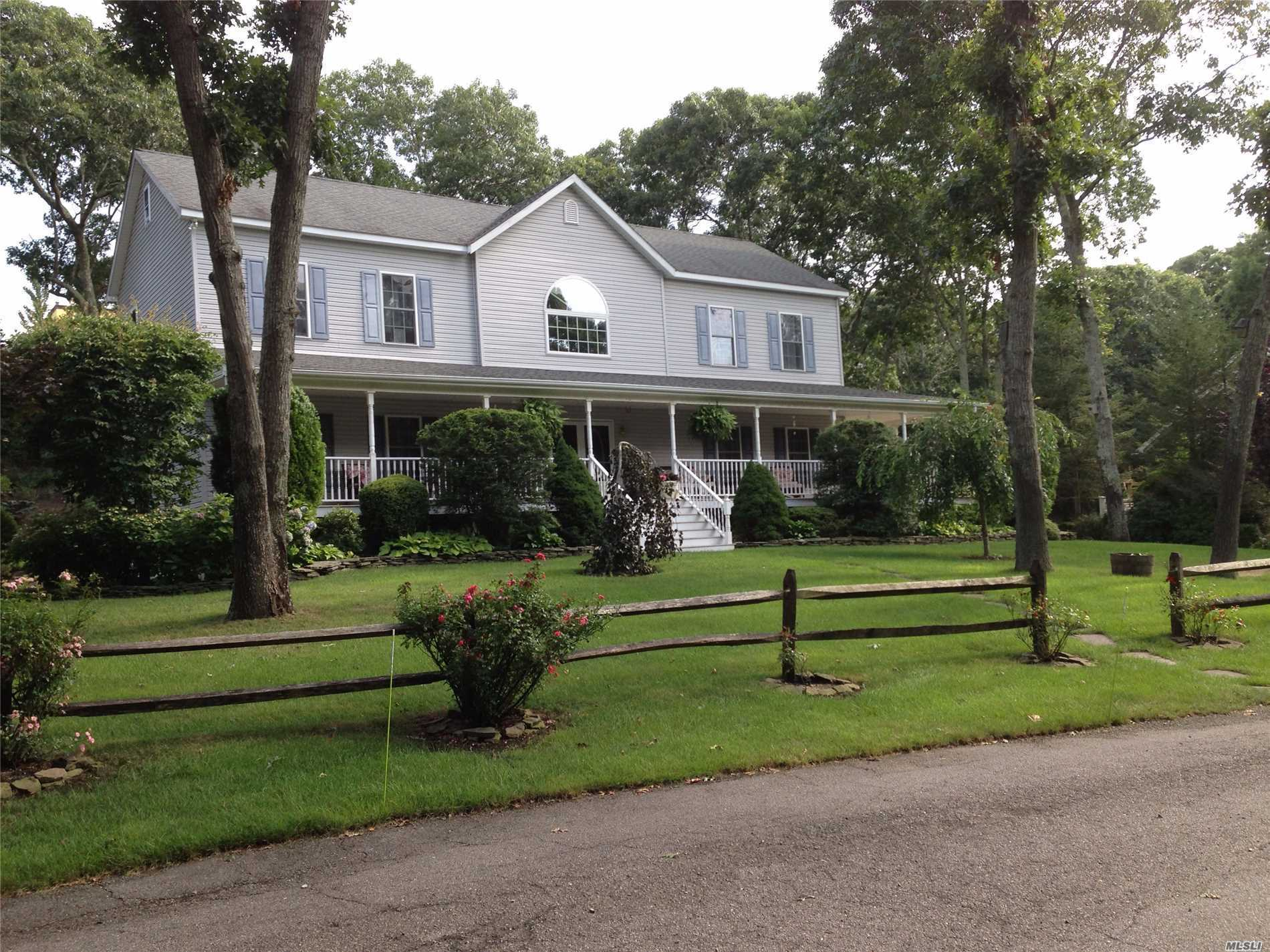 Photo of home for sale at 46 Rosewood Dr, Sag Harbor NY
