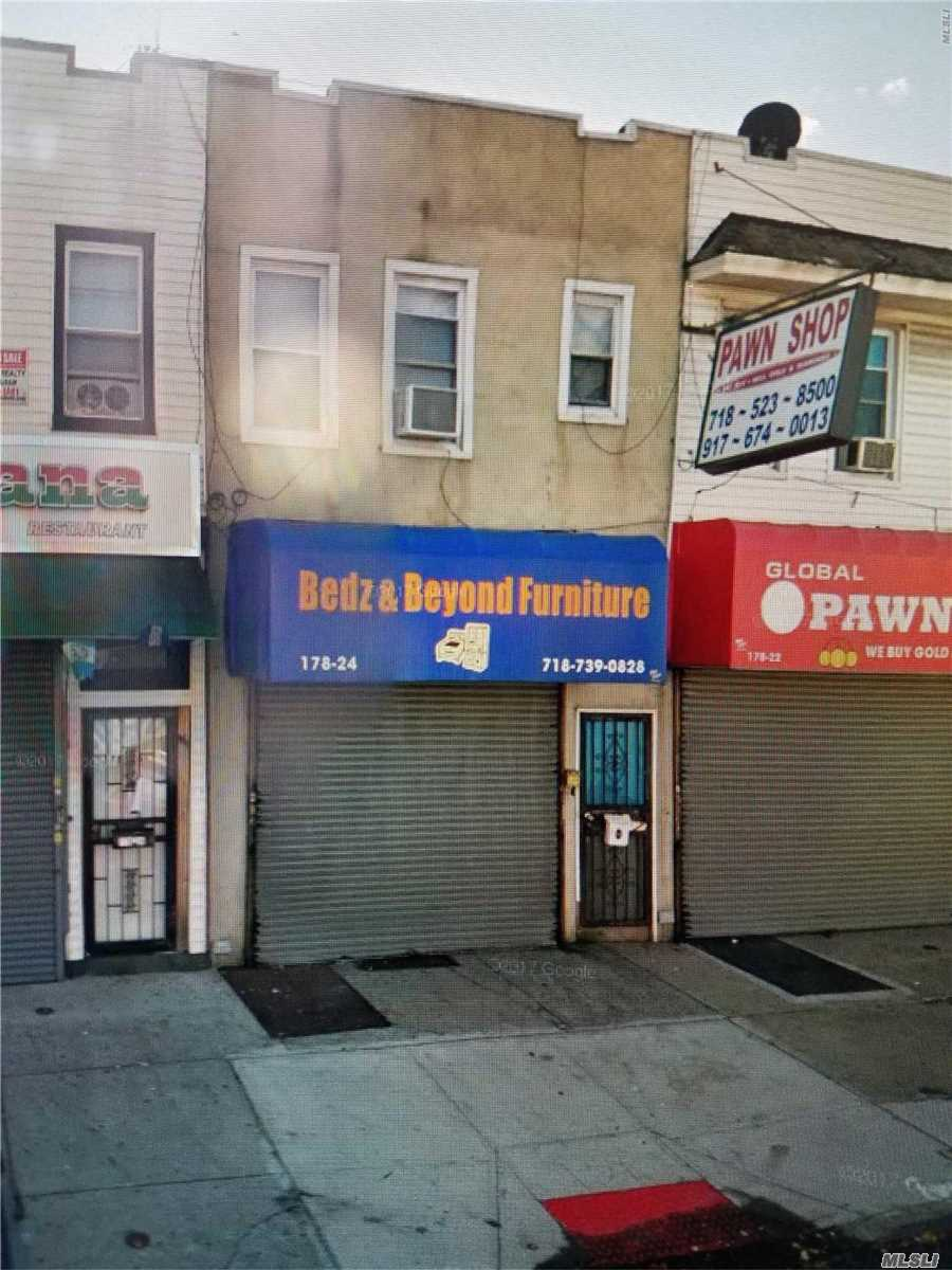 Photo of home for sale at 178-24 Jamaica Ave, Jamaica NY