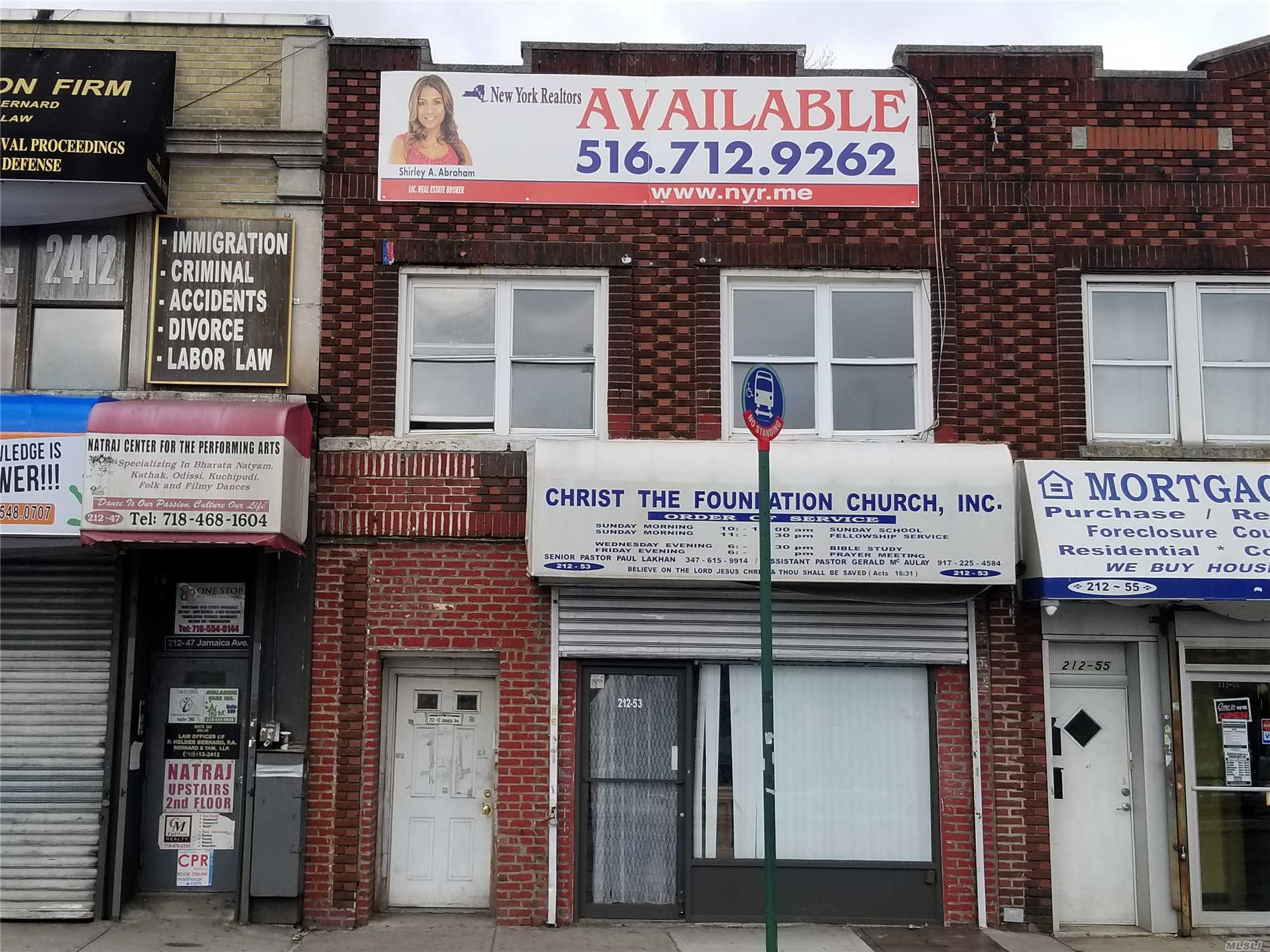 Photo of home for sale at 212-53 Jamaica Ave, Queens Village NY