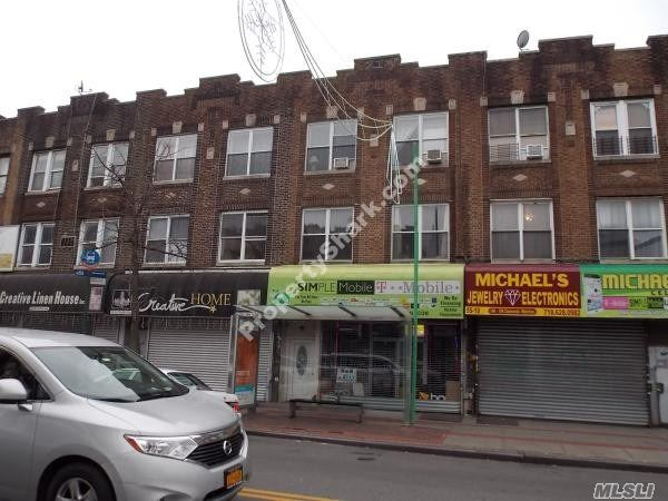 Photo of home for sale at 55-12 Myrtle Ave, Ridgewood NY