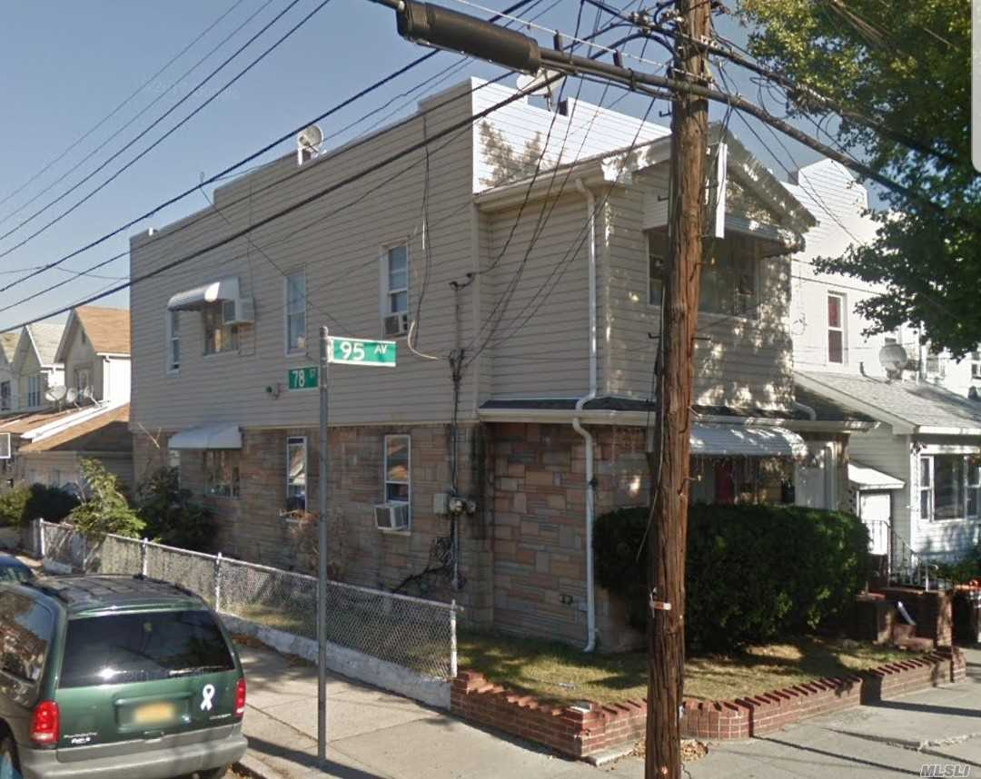 Photo of home for sale at 78-01 95th Ave, Ozone Park NY