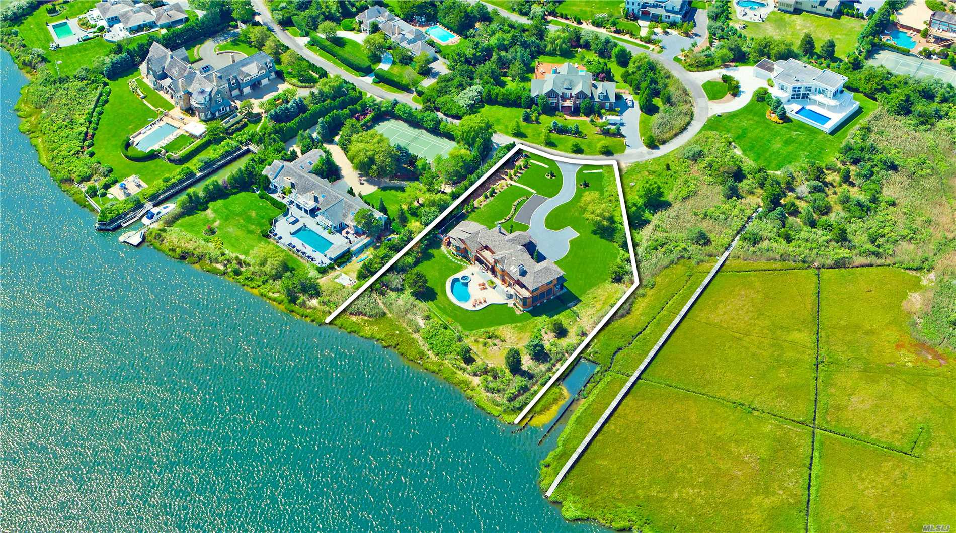 Photo of home for sale at 12 Old Meadow Bnd, Westhampton Bch NY