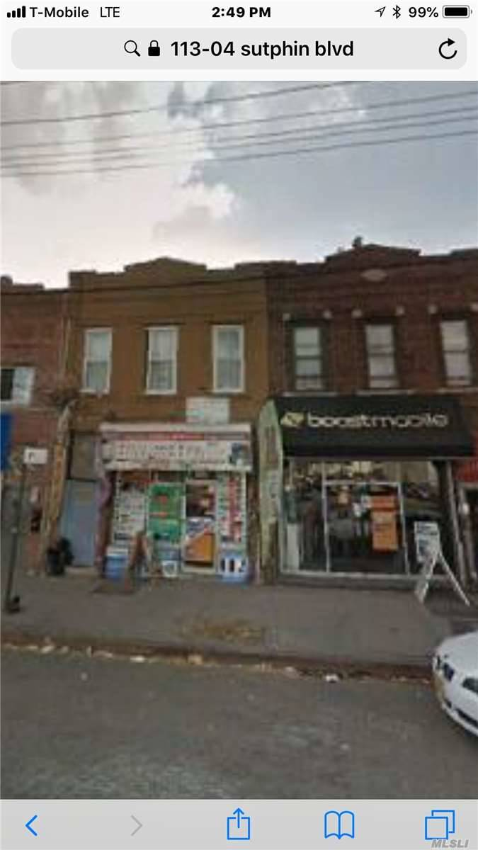Photo of home for sale at 113-04 Sutphin Blvd, Jamaica NY