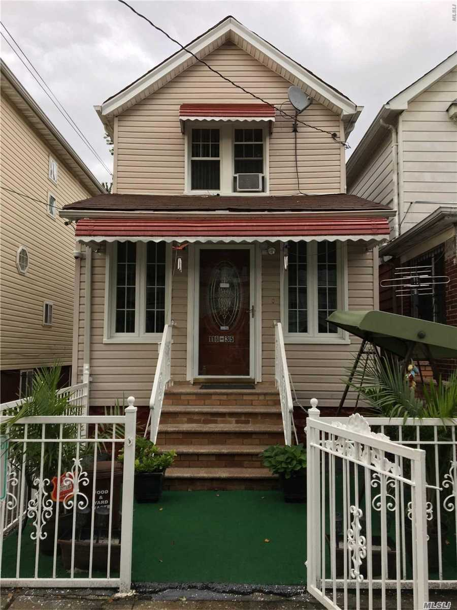 Photo of home for sale at 116-35 131 St, South Ozone Park NY