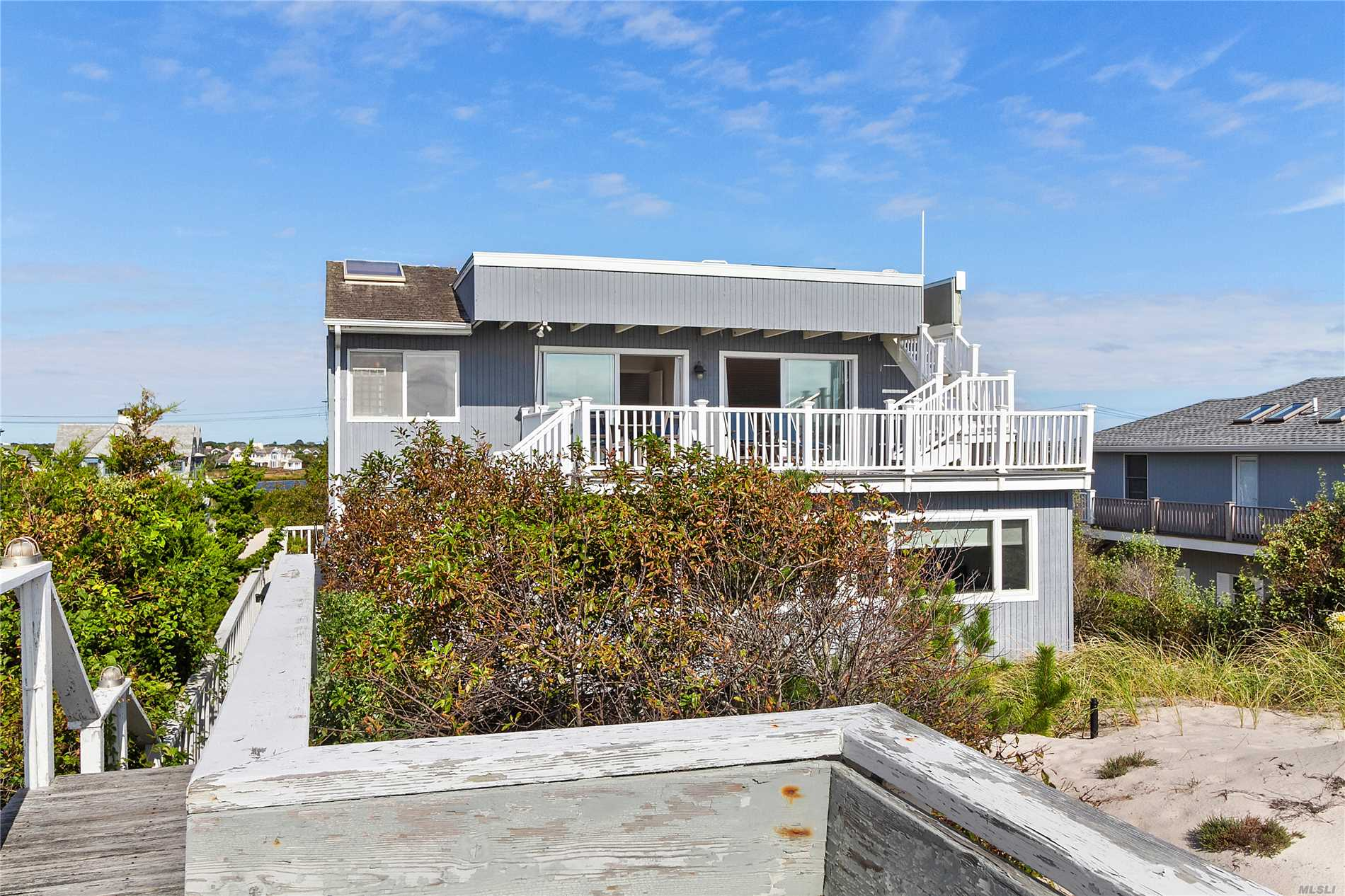 Photo of home for sale at 213 Dune Rd, Westhampton Bch NY