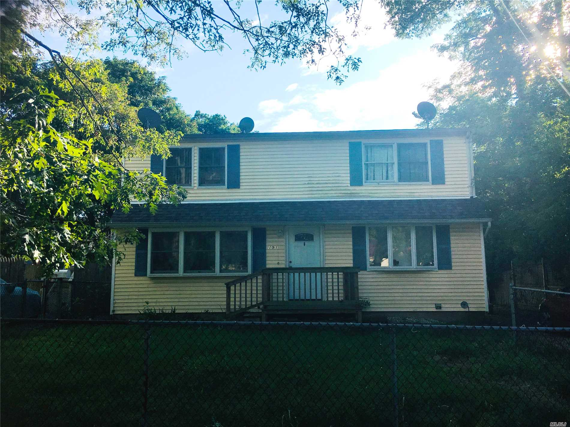 Photo of home for sale at 191 Mark Tree Rd, Centereach NY
