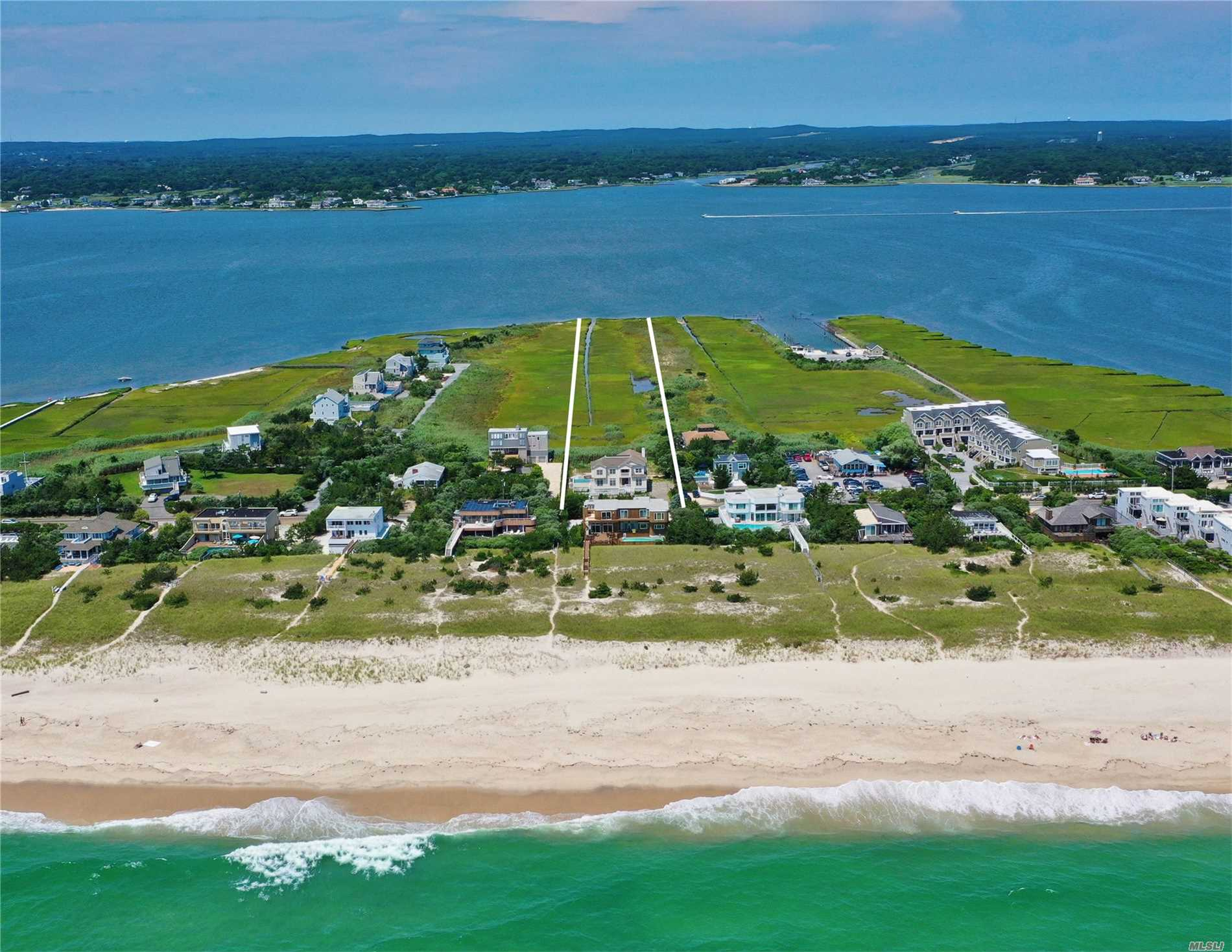 Photo of home for sale at 546 Dune Rd, Westhampton NY