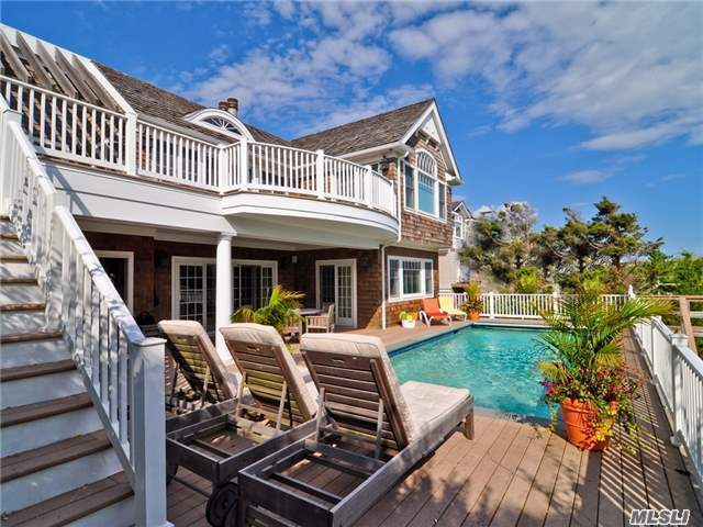 Photo of home for sale at 223 Dune Rd, Westhampton Bch NY