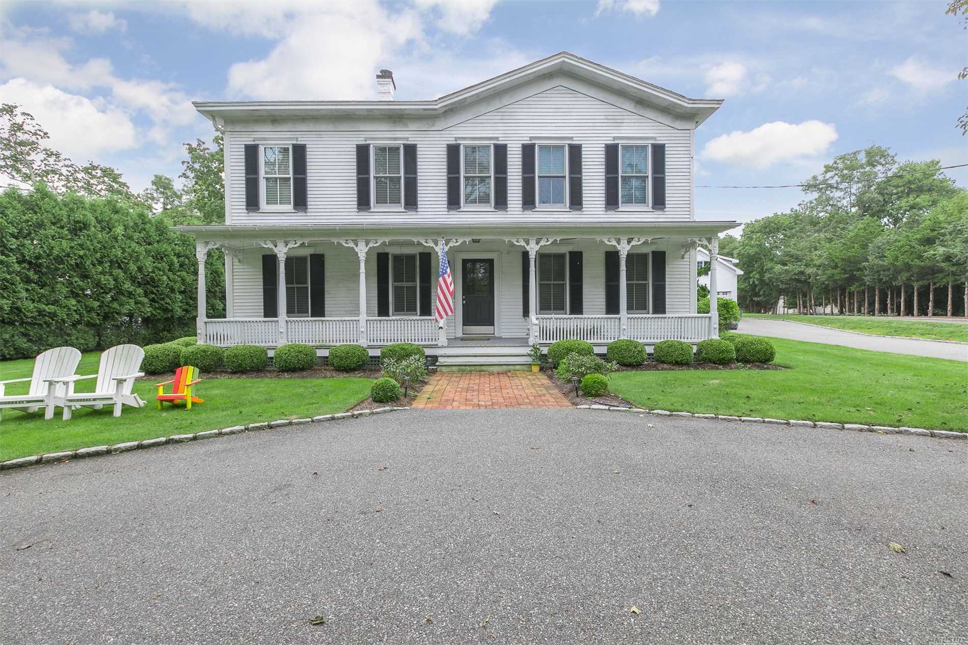 Photo of home for sale at 153 Country Rd S, Remsenburg NY