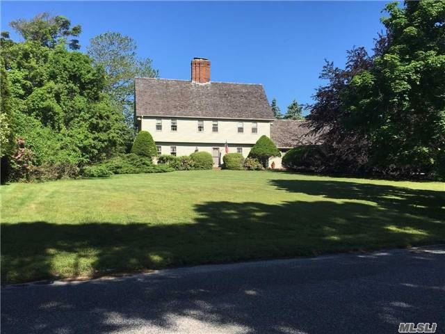 Photo of home for sale at 13 Bridle Path, Remsenburg NY