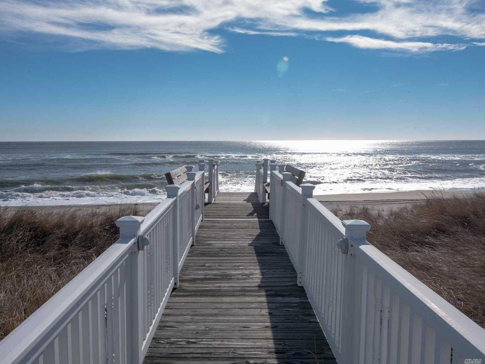 Photo of home for sale at 605 Dune Rd, Westhampton NY