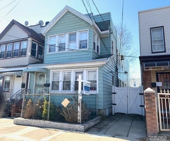 Photo of home for sale at 90-32 80th St, Woodhaven NY