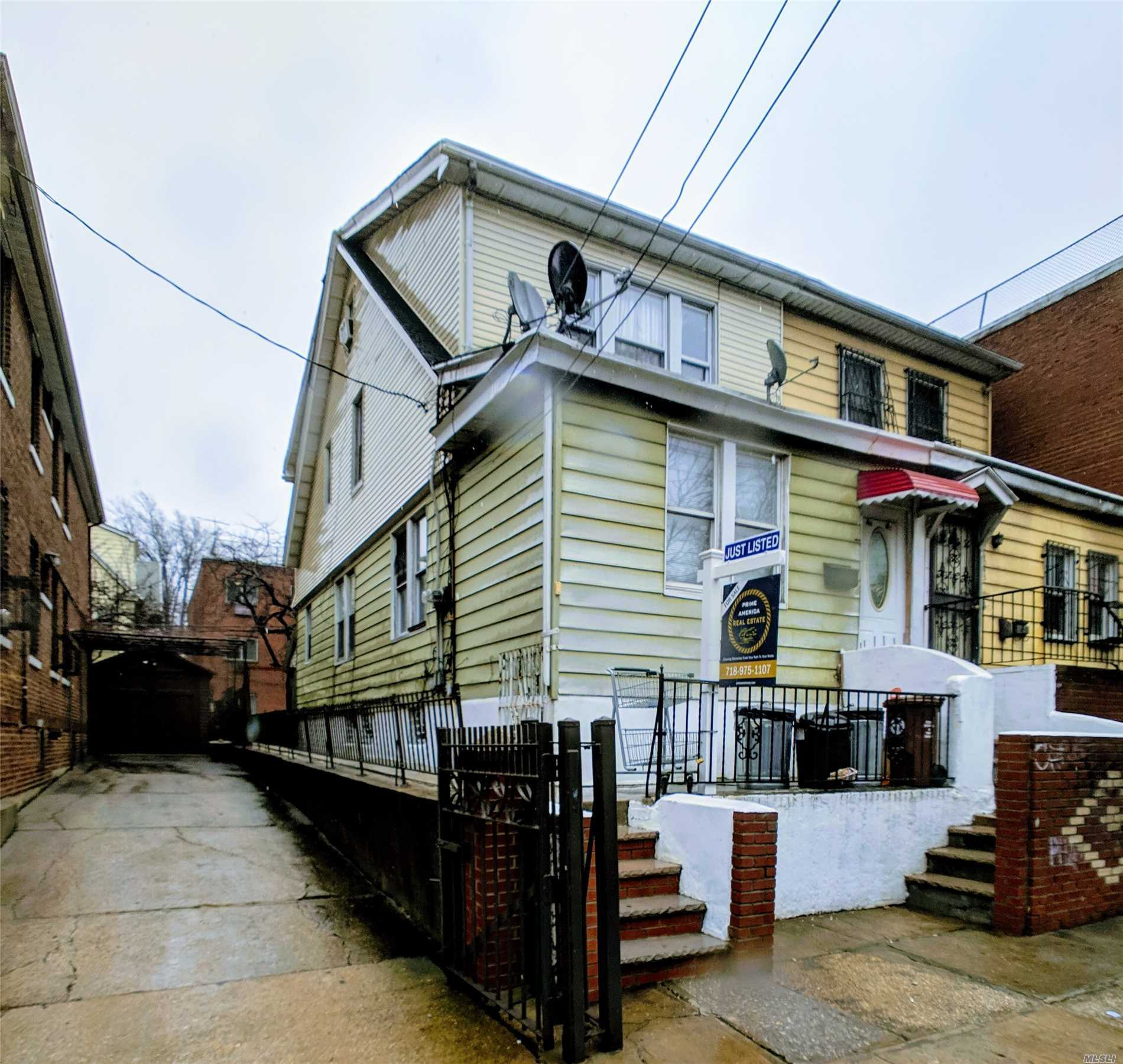 Photo of home for sale at 4043 69th St, Woodside NY