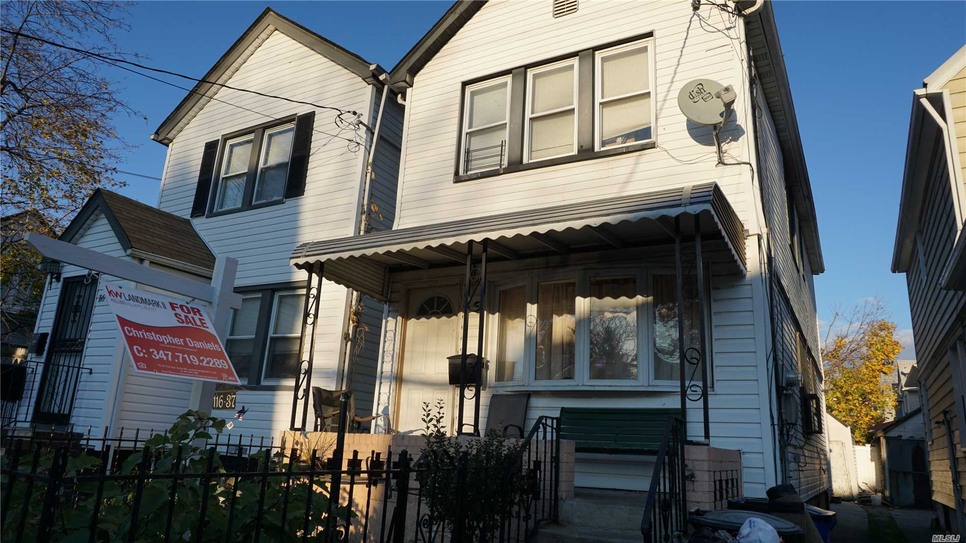 Photo of home for sale at 116-37 155th St, Jamaica NY