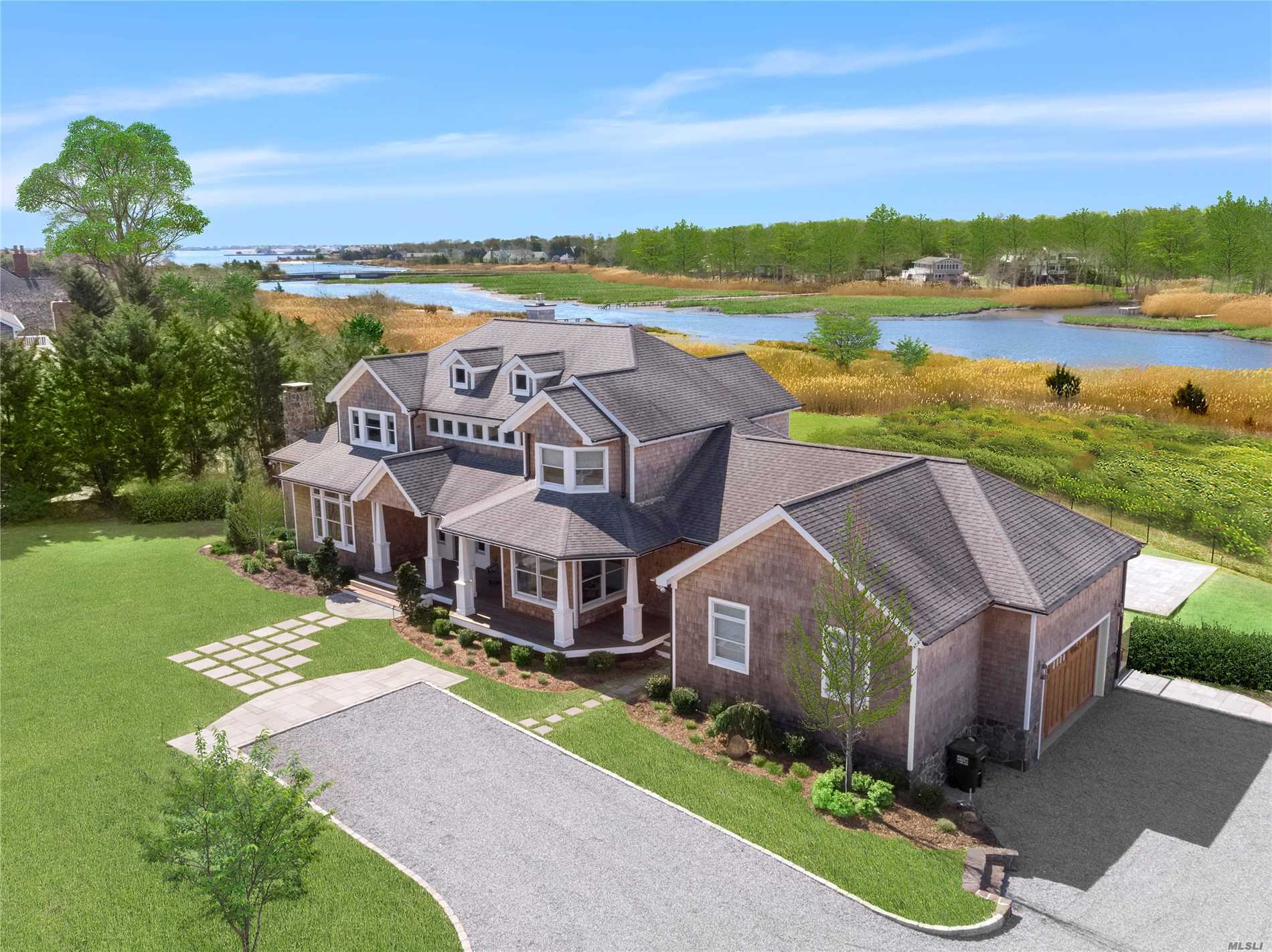 Photo of home for sale at 21A Brushy Neck Ln, Westhampton NY
