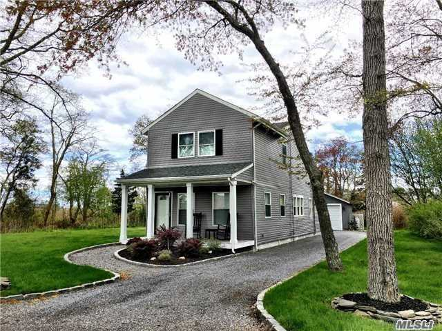 Photo of home for sale at 56 Woodland Dr, Mastic Beach NY