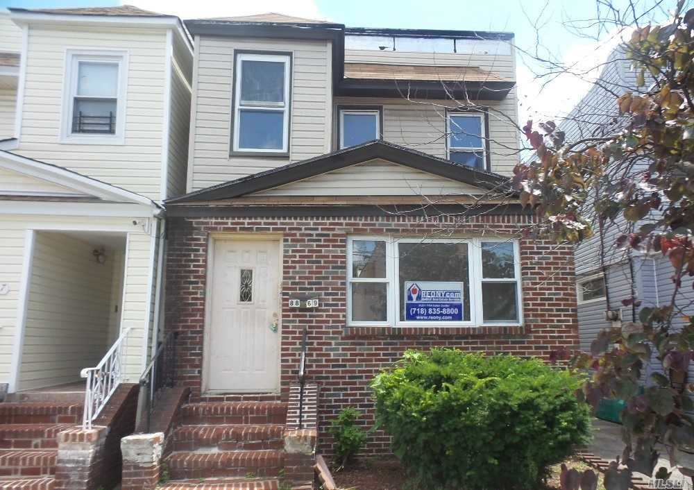 Photo of home for sale at 8869 Eldert Ln, Woodhaven NY