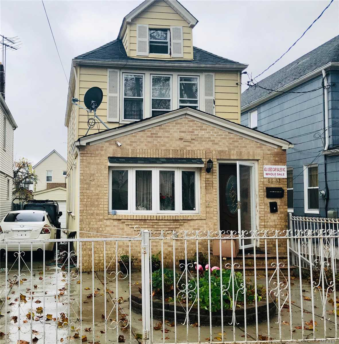 Photo of home for sale at 89-32 214th St, Queens Village NY