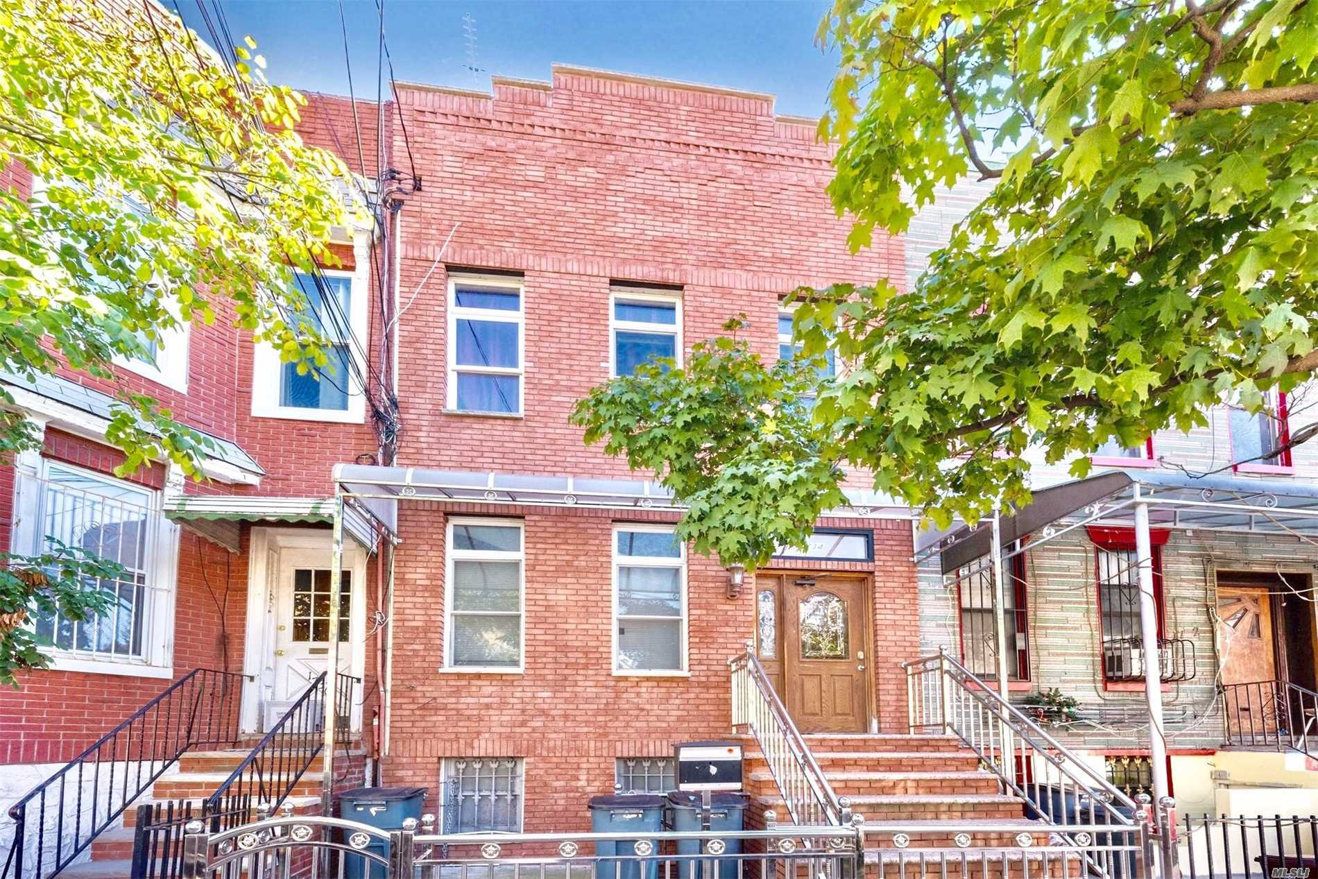 Photo of home for sale at 17-34 Stanhope St, Ridgewood NY