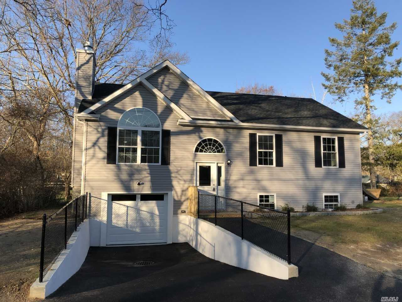 Photo of home for sale at 182 Lynbrook Rd, Mastic Beach NY
